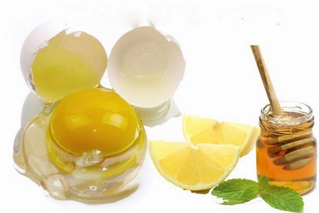 Trứng gà mật ong kết hợp với chanh