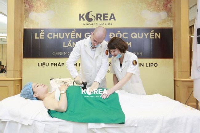 Korea chuyển giao độc quyền công nghệ giảm béo Max Thin Lipo