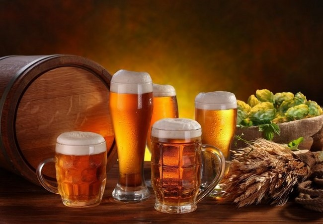 Bia chứa nhiều hợp chất giúp làm đẹp da hiệu quả