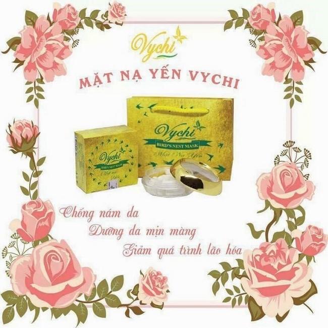 Mặt nạ yến Vychi cho làn da căng bóng, khỏe mạnh mỗi ngày