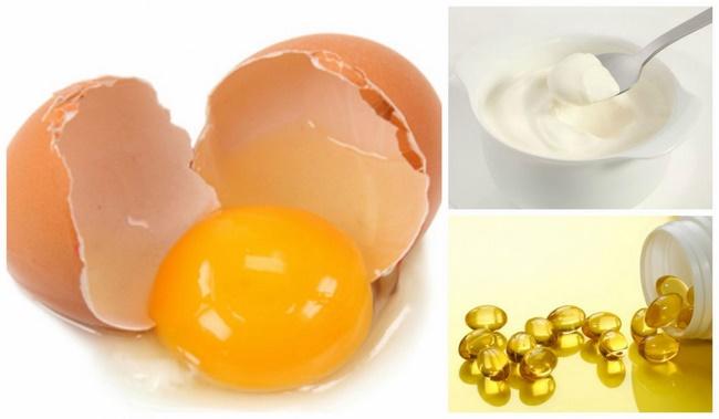 Lòng đỏ trứng gà với vitamin E