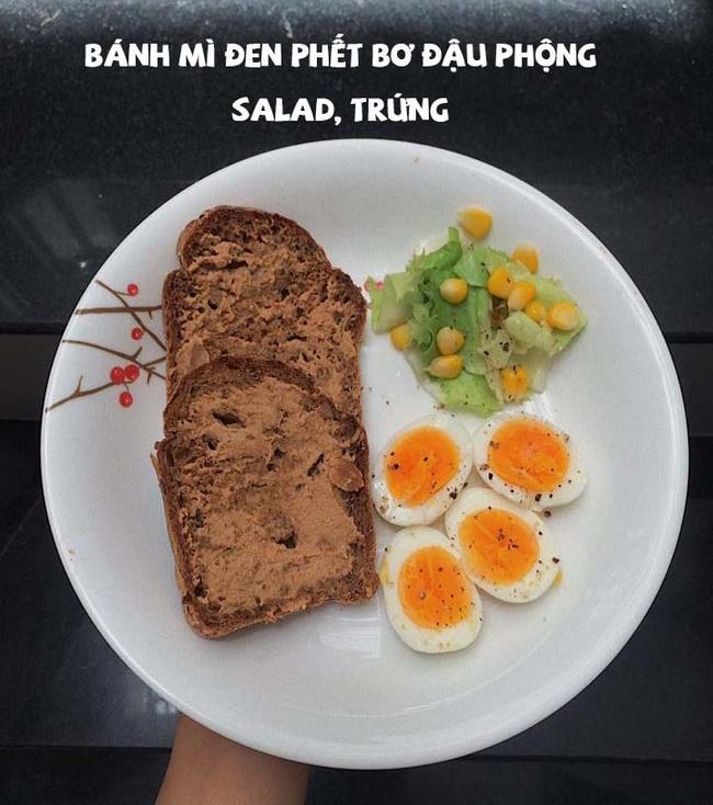 Thực đơn giảm cân bằng bánh mì đen trong 7 ngày hiệu quả