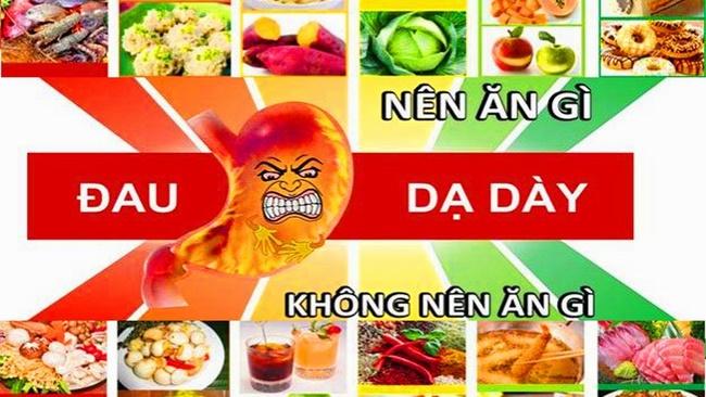 Thực phẩm nên và không nên ăn cho người đau dạ dày