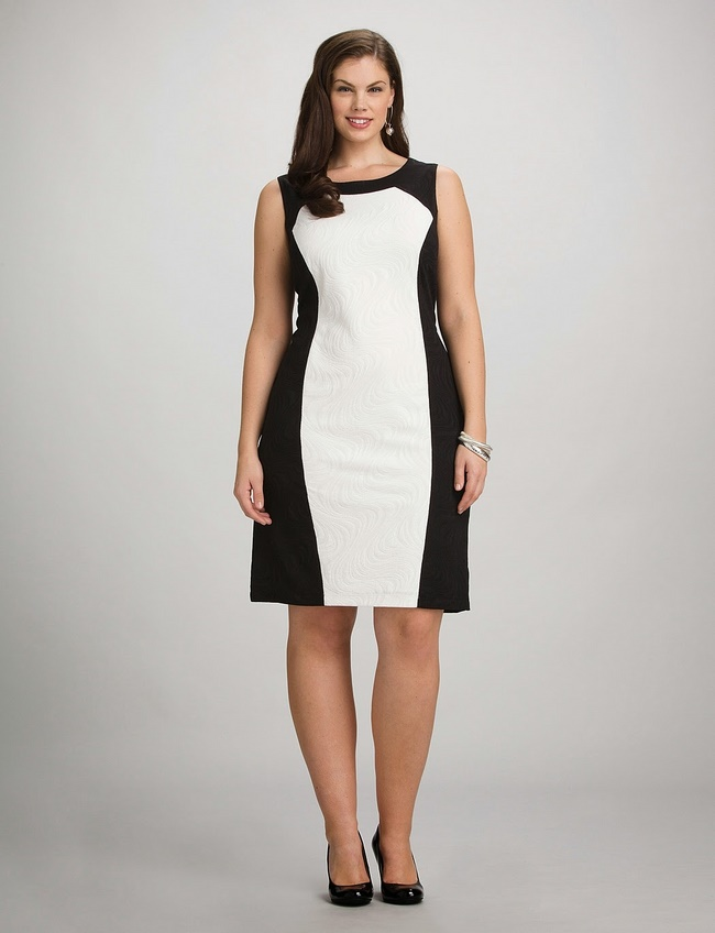 Váy dáng suông là lựa chọn hoàn hảo che đi phần bụng mỡ và đôi chân thô
